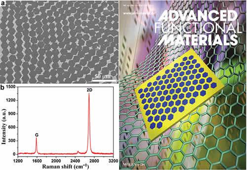 图1级次结构石墨烯的叠层生长(左)和《先进