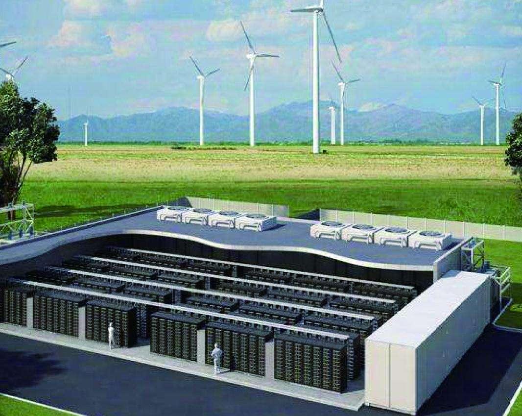 2020年中国储能累计装机将达44gw 电化学储能将达到2gw