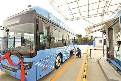 广东新能源汽车产业基地作为省内唯一的燃料电池和氢能技术核心部件